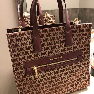 Michael Kors large tote with strap